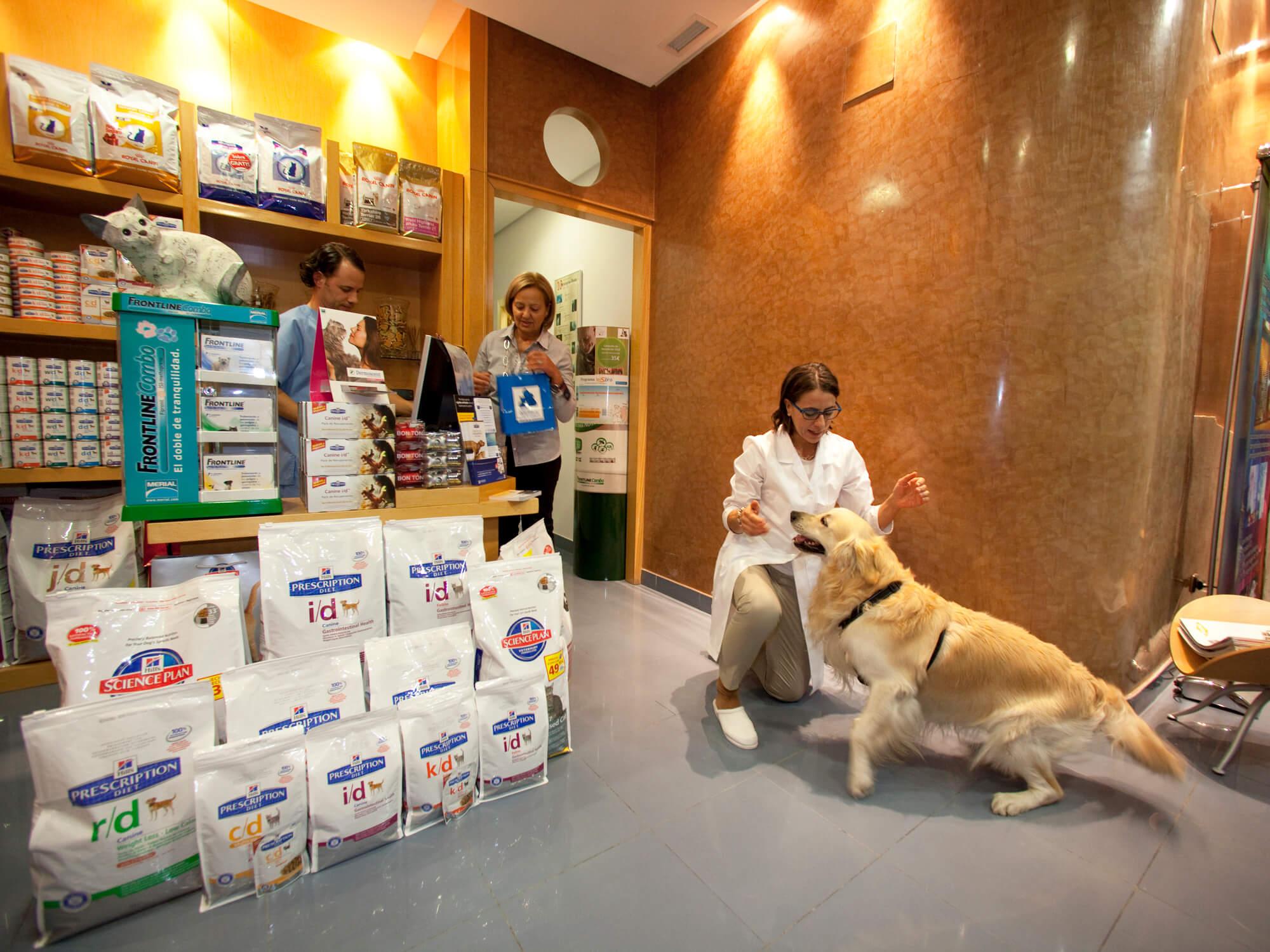 tienda especilaizada veterinaria