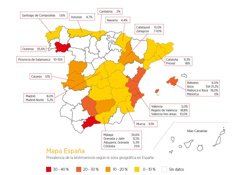 mapa prevalencia leishmania en españa-veterinarioleon-mariacabeza